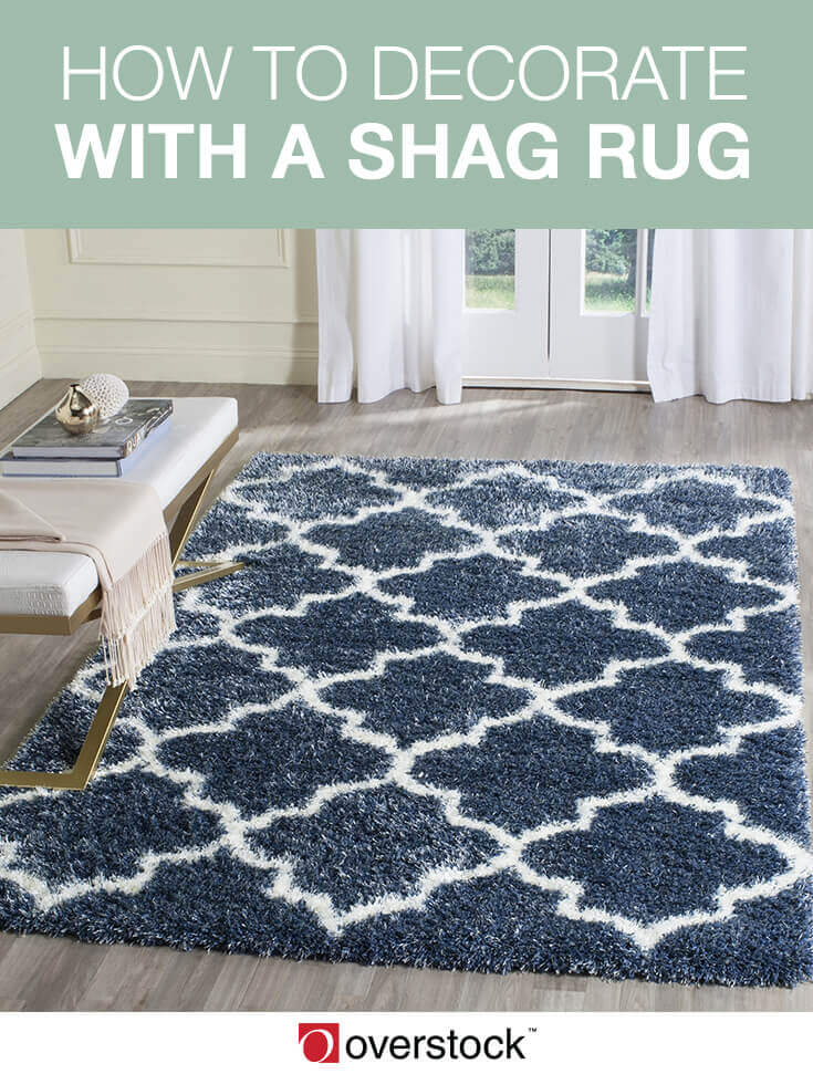 How to Decorate with a Shag Rug