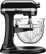 KitchenAid Black 4.5 quart Stand Mixer