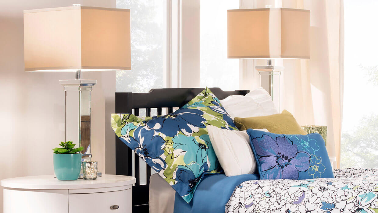 Table Lamp For Bedroom How To Pick The Perfect Bedroom Table Lamp Overstockcom