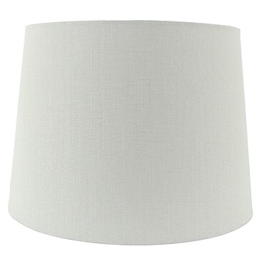 Grey fabic empire lamp shade