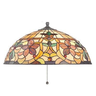 Tiffany style glass lamp shade