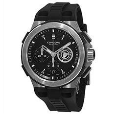 Concord Men's Black Watch