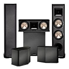 Six speaker BIC Home Theater System