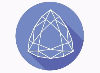 Illustration of a trillion shaped gem