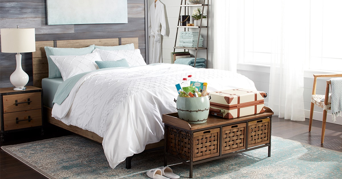 Create A Guest Bedroom Your Visitors Will Love Overstock Com