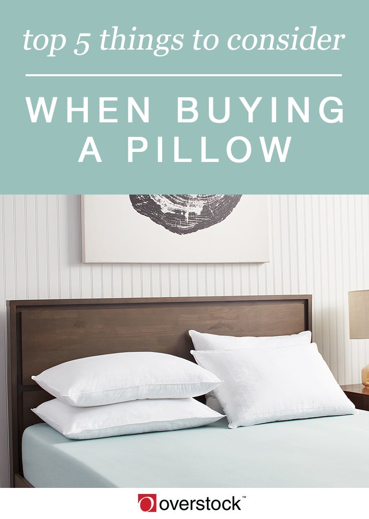 Top 5 Things to Consider When Buying a Pillow