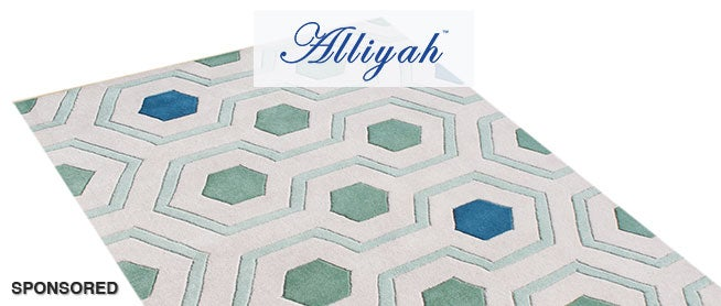 Shop Unique Rugs from Alliyah