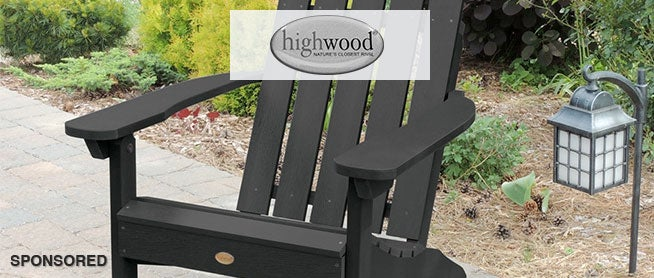 Greet Spring with Highwood Outdoor Furniture
