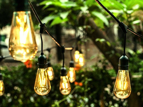Outdoor Lighting and Decor