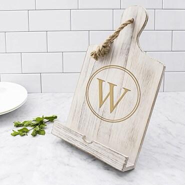 Personalized cookbook holder