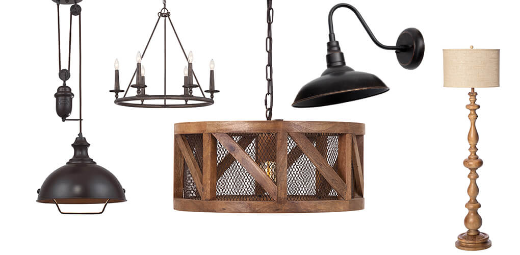 Types of farmhouse lighting