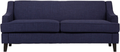 Modern Blue Couch