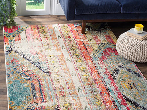 Inspired Home Decor in a Bohemian Vibe: Shop Boho Rugs and Decor