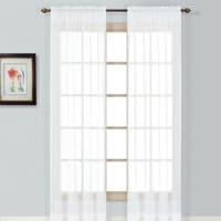 Sheer curtain panel