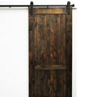 Vintage-look barn door
