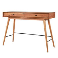 Wood accent tables