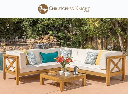 lounging in style   shop outdoor furniture by Christopher Knight. Our Biggest Labor Day Sale 2017   Overstock com Shop Furniture