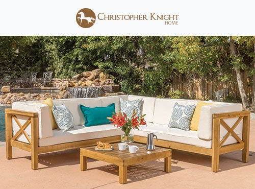 Lounging In Style | Shop Outdoor Furniture By Christopher Knight