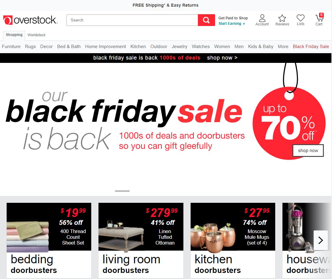 About Us | Overstock com