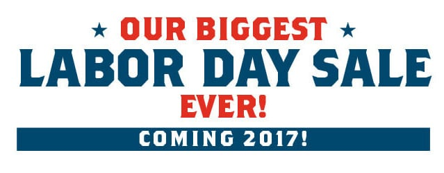 Our biggest labor day sale 2017 shop for Labor day weekend furniture sales