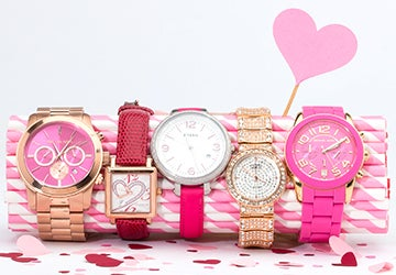 A stack of watches, an option for the top 10 Jewelry gift ideas for Valentines day