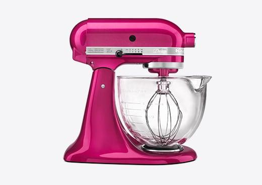 Hot Pink KitchenAid Mixer