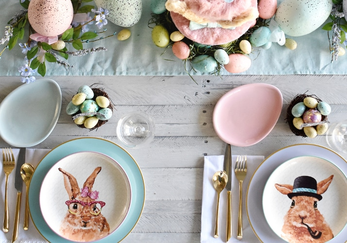 16 easter table decoration ideas