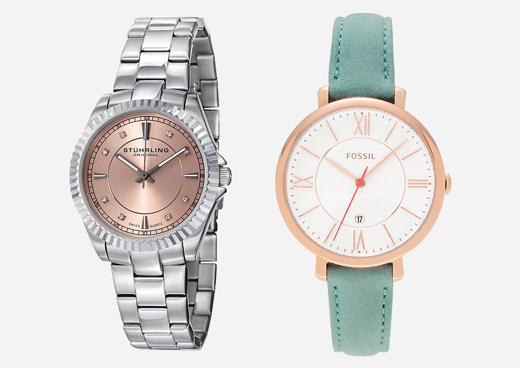 two women's watches