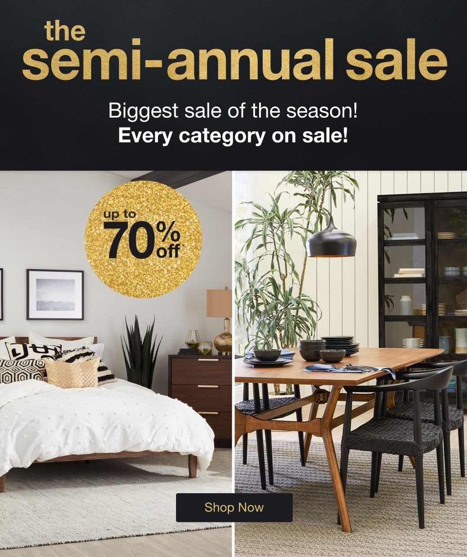 The Semi-Annual Sale mobile