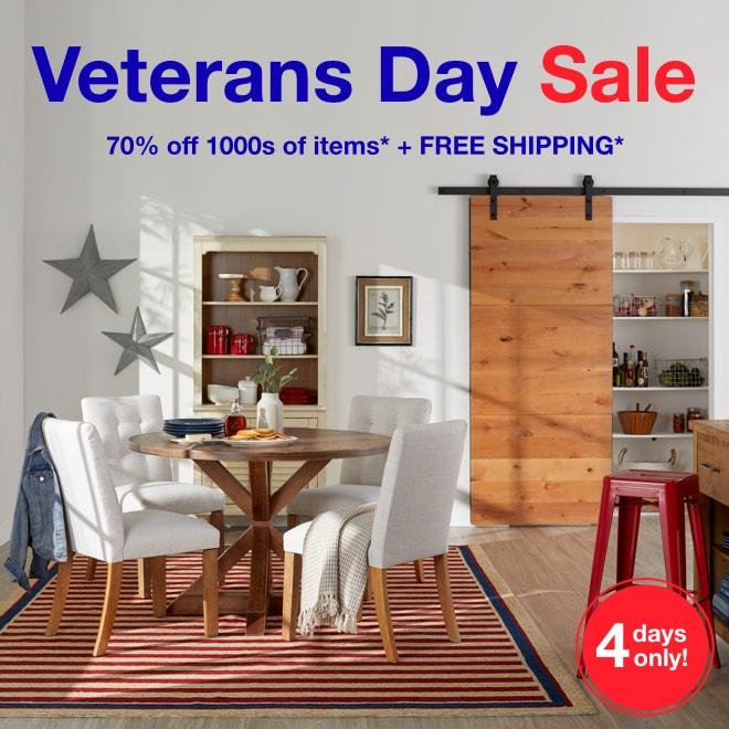 Veterans Day Sale