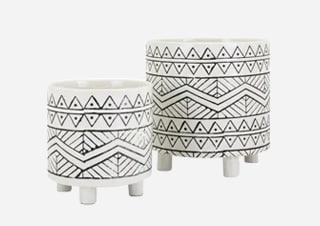 Decorative plant pots