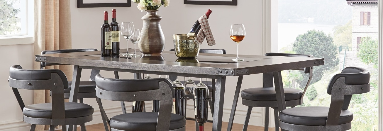 Kitchen Pub Table Bar pub table sets for less overstock bar pub table workwithnaturefo