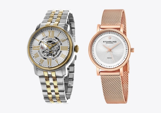 A Women's and Men's Watch