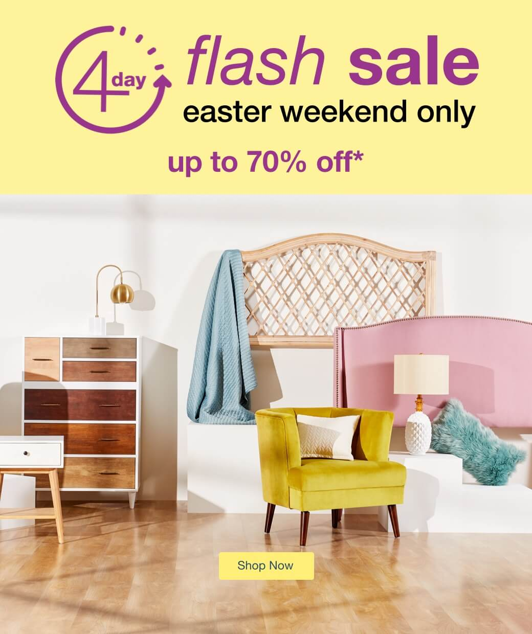Easter 4-Day Flash Sale