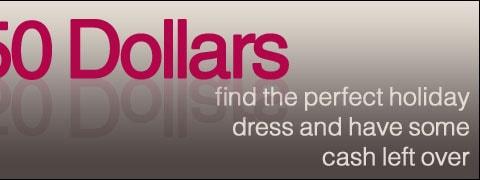 $50 Dresses
