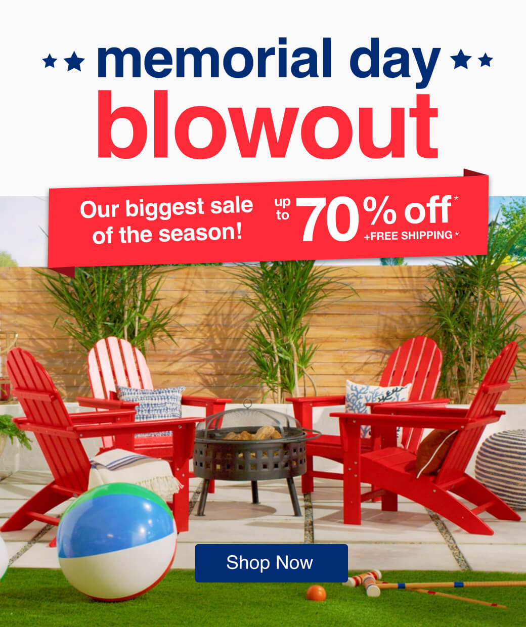 Memorial Day Blowout mobile