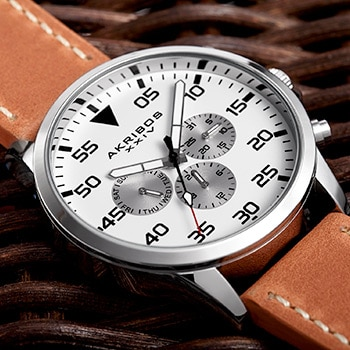 up to 70% off select watches by Akribos XXIV*