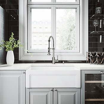 up to 45% off select sinks and faucets by VIGO*
