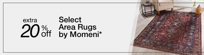 Extra 20% off Select Area Rugs by Momeni*