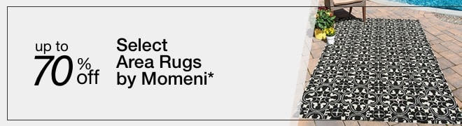 Up To 70% off Select Area Rugs by Momeni*
