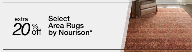 Extra 20% off Select Area Rugs by Nourison*