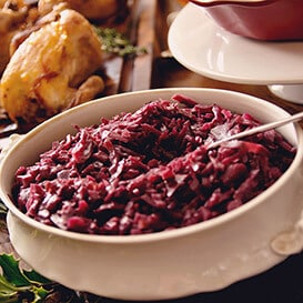 Sweet Braised Red Cabbage