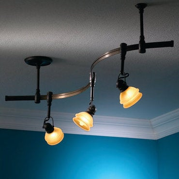 track lighting track lighting offers soft to bright overhead light and