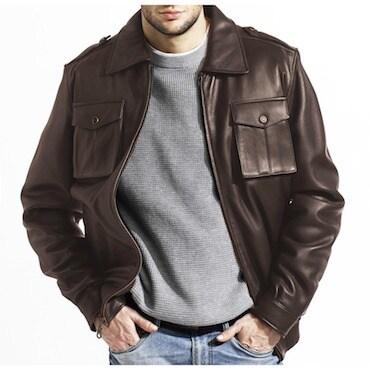 Lambskin Men's Jacket