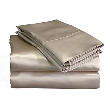 Mocha Colored Silk Sheets