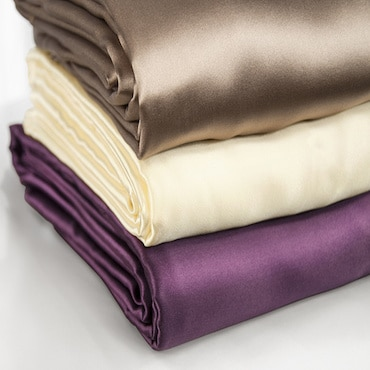 Stack of Silk Sheets