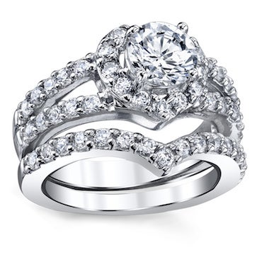 Affordable Cubic Zirconia Ring