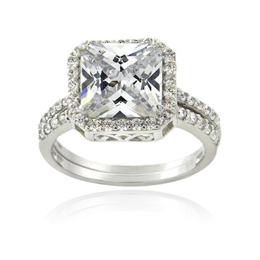 choose cz stones for brilliance cz engagement rings - High Quality Cubic Zirconia Wedding Rings