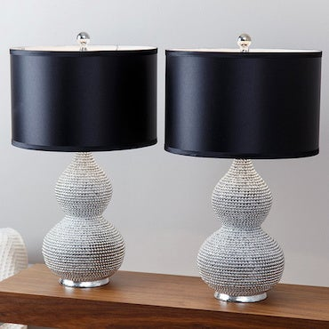 Black and White Table Lamps