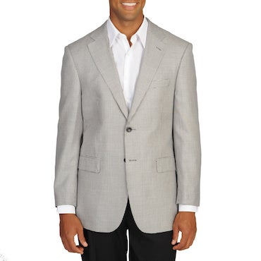 Breasted and Buttoned Sportcoat